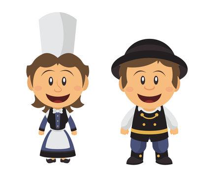 Petit couple Breton
