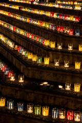 Les lumignons pour la commémoration du 8 décembre à Villeurbanne