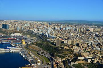 Miasto Oran w Algierii
