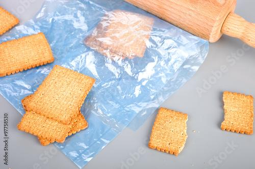 Kekse zerbröseln\