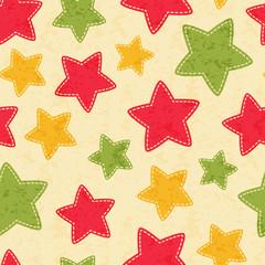 Childish Christmas seamless pattern with Christmas trees