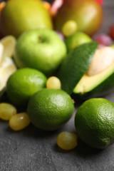 Fruits closeup