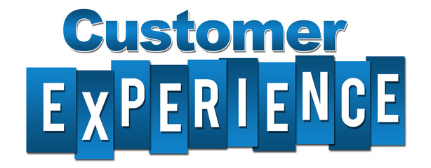 Customer Experience Profession Blue Stripes