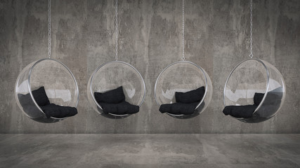Fashionable hanging chair