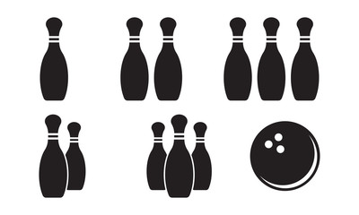 Pin and Ball - Bowling Item