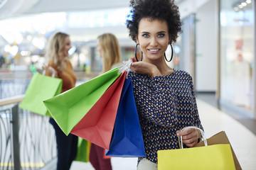 Shopping is what women love best.
