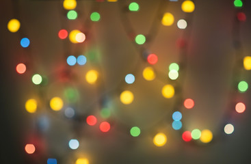 Colorful bokeh background. Texture of colorful bokeh background.