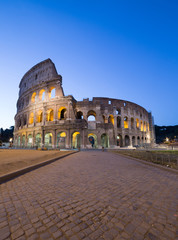 Tuinposter Oude gebouw Great Colosseum, Rome, Italy