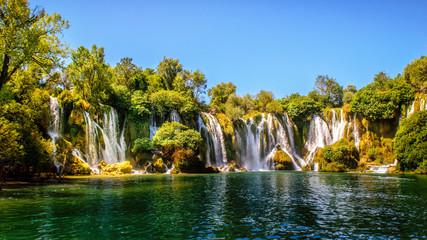 Kravice waterfall on Trebizat River in Bosnia and Herzegovina