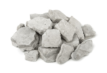 Pile of concrete rubble