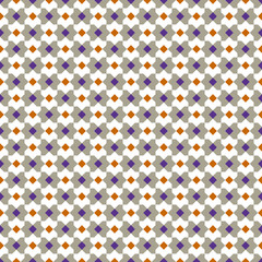 Seamless background image of vintage square triangle geometry repeat pattern.