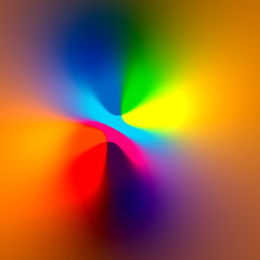 Abstract blurry iridescent background. Modern glowing style.