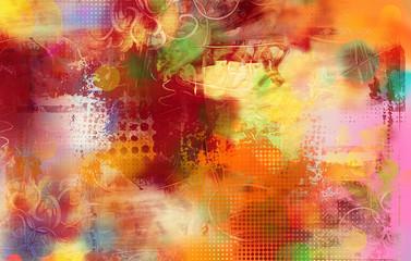 malerei graphik texturen kreise