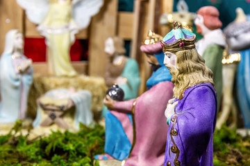 Christmas Scene - Nacimiento