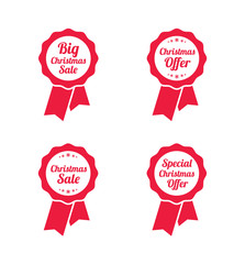Christmas Offer & Sale Ribbons