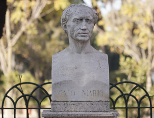 Gaio Mario monument at rome