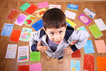 çocuk resim sergisi
