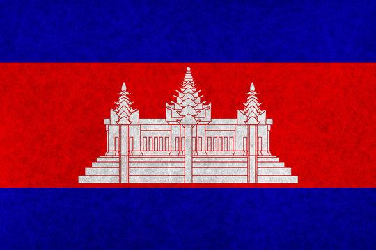 カンボジア  国旗 国 旗