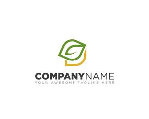 Leaf Design Logo Icon