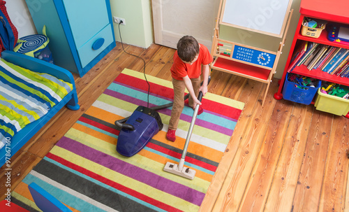 children cleaning their room - 1000×607