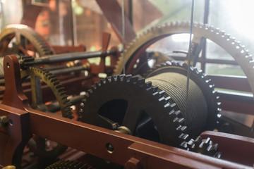 old tower clockwork