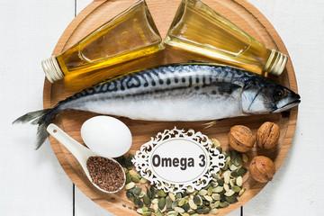 Products - source fatty acids Omega 3