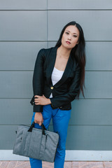 japanese Business Woman in the Street