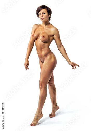 Girls nude holding guns-9652