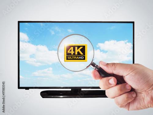 4k television stockfotos und lizenzfreie bilder auf. Black Bedroom Furniture Sets. Home Design Ideas
