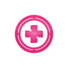 Pink Medical Symbols