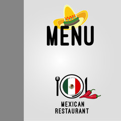 Menu mexican Restaurant