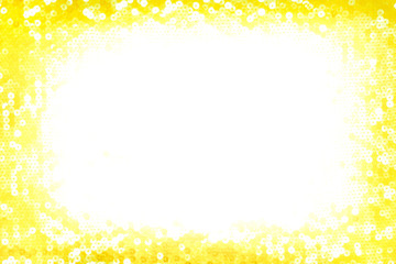 Christmas sparkling gold background with white space on the middle