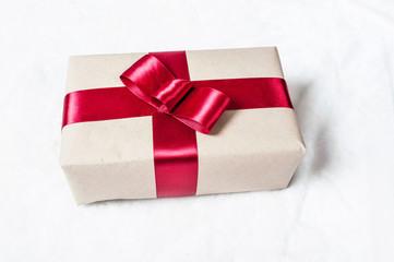 Gift into box