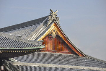 Traditional japanese Giant roof, Kyoto
