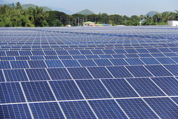 Large Scale On-ground Solar PV Power Plant