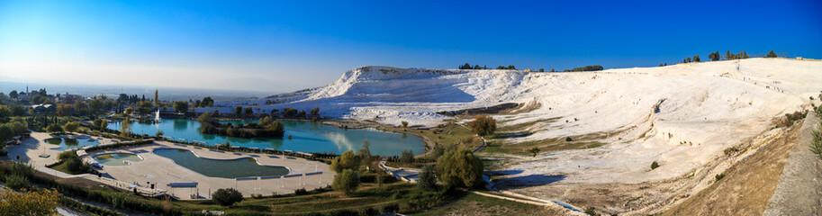 Panoramic Pamukkale View