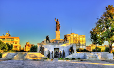 Liberty Monument in Nicosia - Cyprus
