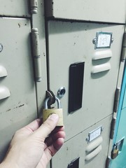 key and locker