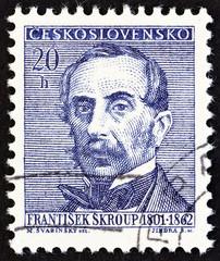 Frantisek Skroup, composer (Czechoslovakia 1962)