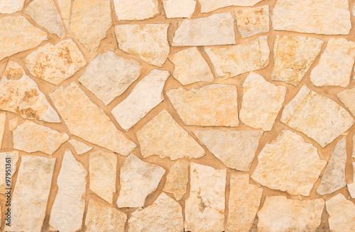Bruchsteine Natursteine Beige Braun Hell Textur Hintergrund ...