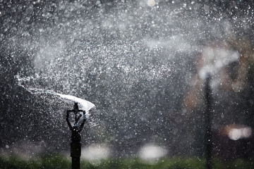 refreshing water sprinkler