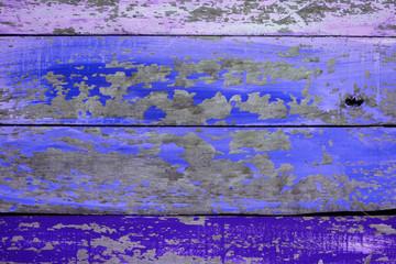 grunge peeling wooden panel