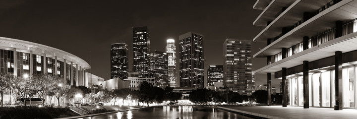 Fototapete - Los Angeles at night