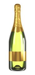 Bottiglia Spumante Generica - Oro