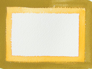 abstract border watercolor background design
