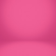 Abstract pink room