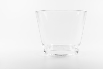 Empty short glass