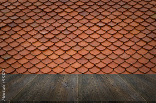 Wood terrace and tile roof texture stock photo and for Terrace texture