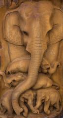 Elephant carve