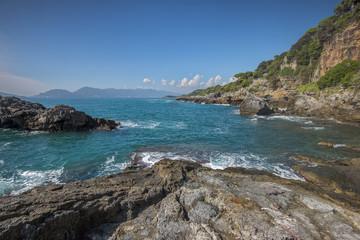 landscape of golfo die poet, la spezia, Italy